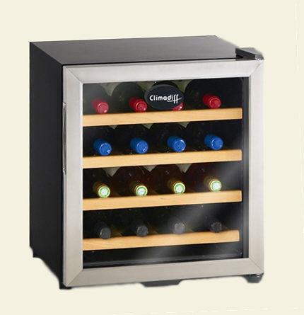Винный мини-шкаф CV16TX на 16 бутылок